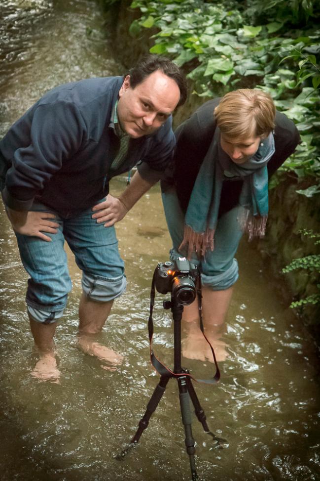 """En el curso de fotografía aprendemos a hacer """"Aguas Sedosas""""... en este caso con Lena"""